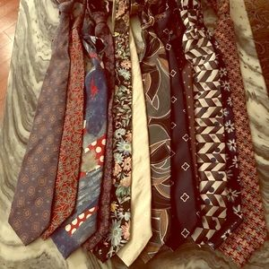 12 Mens Neck Ties